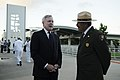 US Navy 111207-N-WP746-079 The Honorable Ray Mabus speaks with National Park Service Historian.jpg