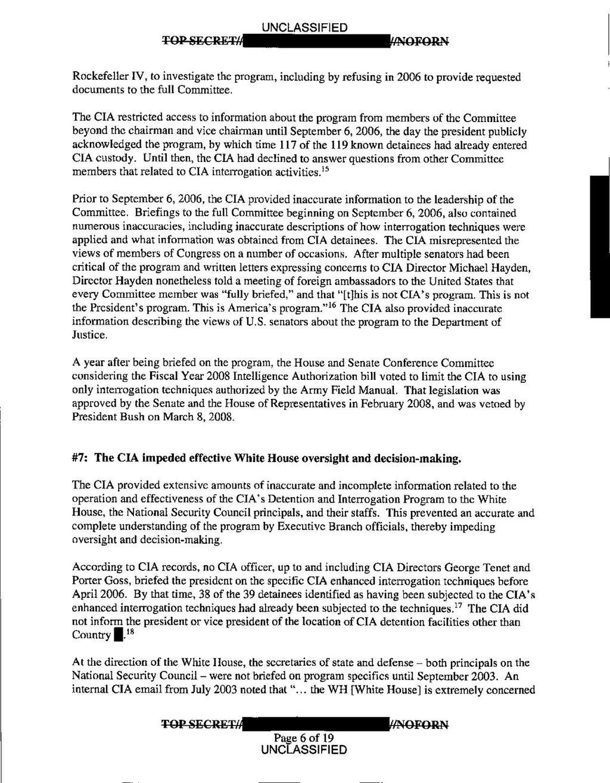 Page:US Senate Report on CIA Detention Interrogation Program pdf/13