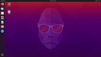 Bureau d'Ubuntu 20.10