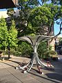 Umbrella Arc by Bike Arc-Margaret Battaglia Plaza-Palo Alto, CA 2014-05-31 07-57.jpg