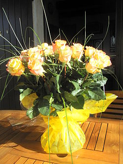 Des fleurs pour algernon wikip dia for Bouquet de fleurs wiki