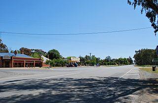 Undera Town in Victoria, Australia