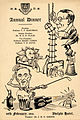 University of Liverpool Medical Students' dinner card cartoon, 1941 (14465937659).jpg