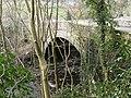 Upstream side of bridge over Afon Ceiriog at Pontfadog - geograph.org.uk - 1772746.jpg
