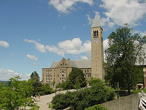 Cornell University Library - Uris Library and McGraw Tower