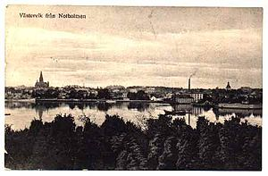Västervik - Västervik around 1900