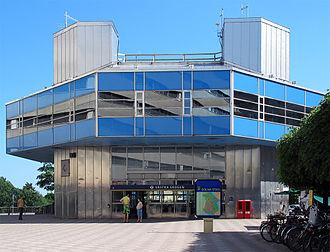 Västra skogen metro station - Image: Västra skogen