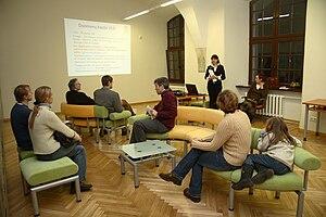 Vilnius University Library - Žalioji (Emerald green) periodical reading room, HIC