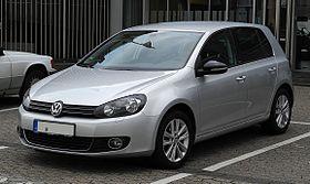 VW Golf 1.6 TDI Style (VI) – Frontansicht, 25. Februar 2012, Ratingen.jpg