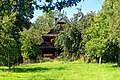 Valašsko - Karolinka - Pod Obecnicu - View North - Rural Wooden Architecture I.jpg