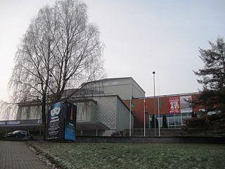 Vanemuine theater in Tartu, Estonia