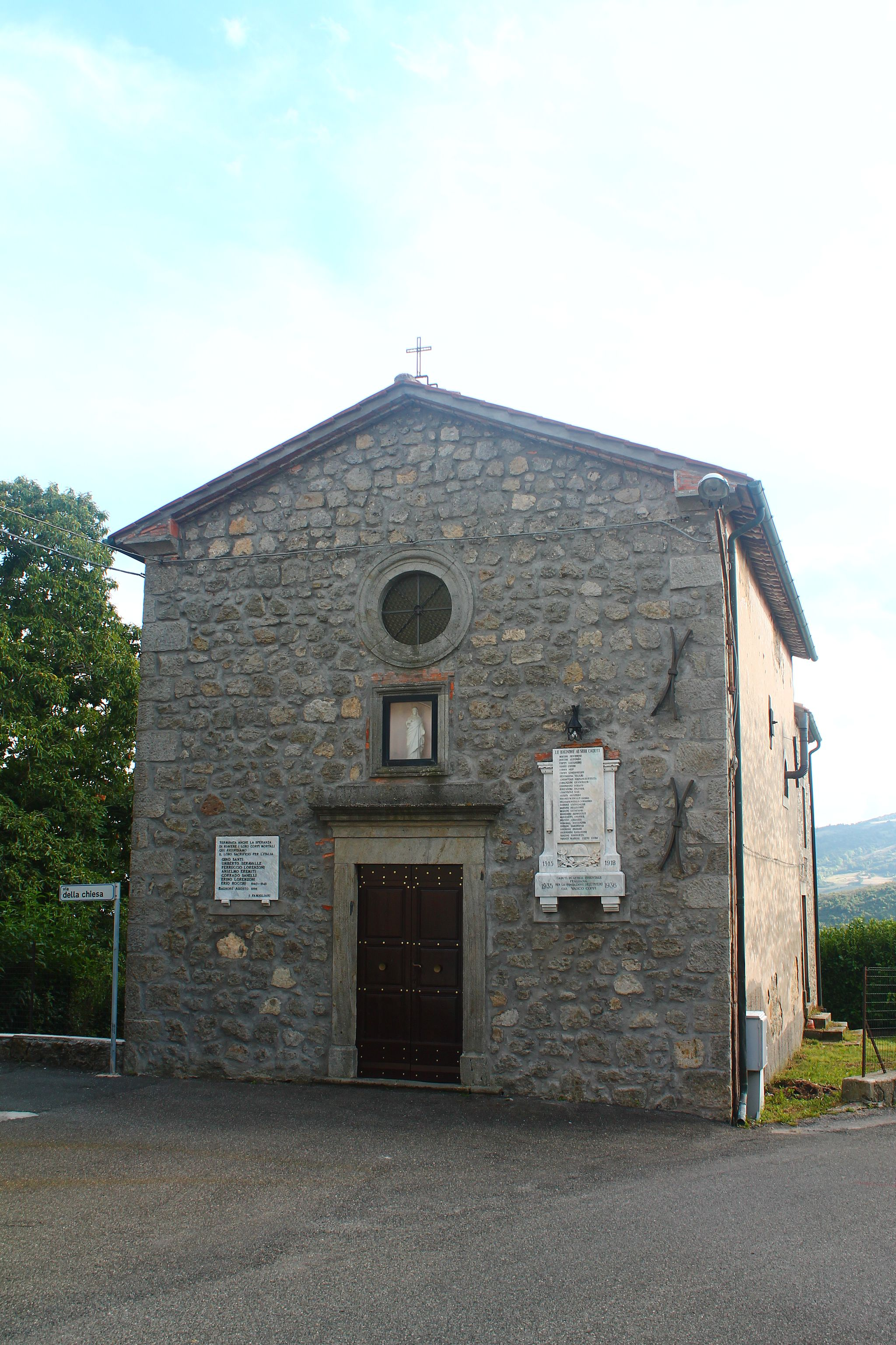 Vecchia chiesa delle Bagnore