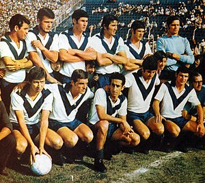 Club Atlético Vélez Sarsfield - The team of 1968, which won the first title for the institution.
