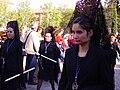 Venerable Hermandad del Santísimo Cristo de la Lanzada y María Santísima de la Caridad, Granda, Semana Santa 2009 (16).JPG