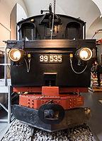 Verkehrsmuseum Dresden Schmalspur Dampflok 99 535 Tender IV.jpg