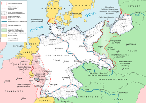 Friedensvertrag Von Versailles Wikiwand