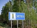 Veteli municipal border sign 2018.jpg