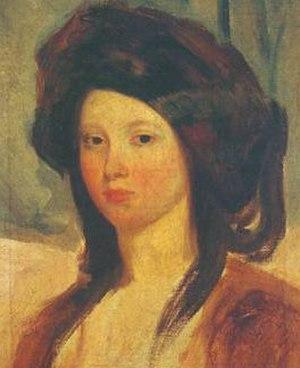 Juliette Drouet - Portrait of Juliette Drouet, by Charles-Émile-Callande de Champmartin, 1837