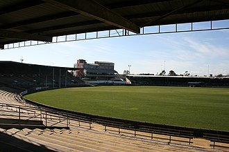 Victoria Park, Melbourne - The Sherrin, Bob Rose and Ryder Stands in 2007