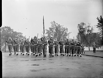 Royal Jordanian Army - Units from Jordan's Arab Legion take part in the Victory March in London in 1946