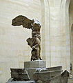 Victory at the Samothrace (Le Louvre) (8226630960).jpg