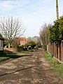View northwest along Coburg Lane - geograph.org.uk - 707404.jpg