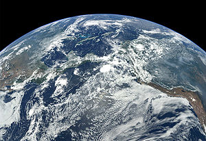 View of Earth from MESSENGER