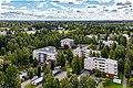 View towards Seinäjoen keskuskenttä from bell tower of Lakeuden risti.jpg