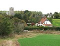 View towards St Andrew's church - geograph.org.uk - 1534768.jpg