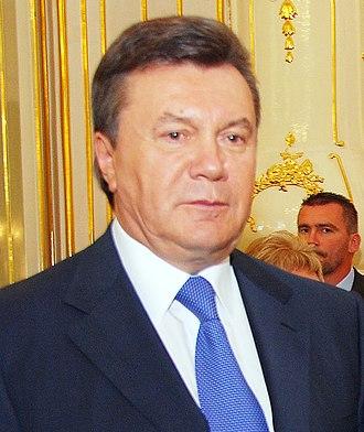 2004 Ukrainian presidential election - Viktor Yanukovych