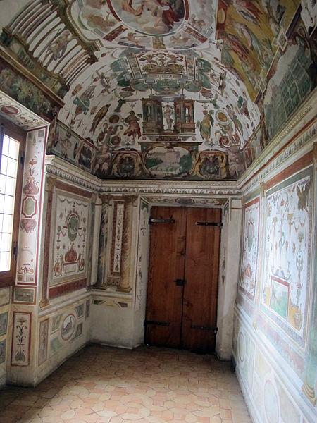File villa medici studiolo del cardinale 02 jpg wikimedia commons - Villa medicis rome chambres ...