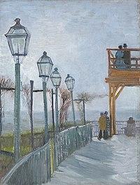 Vincent van Gogh - Terrace and Observation Deck at the Moulin de Blute-Fin, Montmartre - 1926.202 - Art Institute of Chicago.jpg