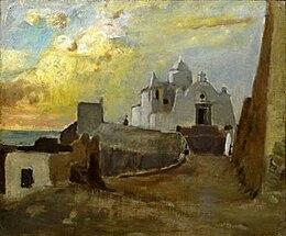 La chiesa di Santa Maria del Soccorso, opera di Vincenzo Cabianca.