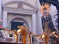 Virgen de Soledad, Templo de La Recolección en Sábado Santo del 2005.jpg