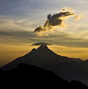 Virunga Mountains - The summit of Mount Mikeno