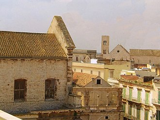 Bitonto - View of the historical center