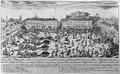 Vista da Praça do Rocio na qual se reprezenta a dezordem e terror dos Francezes no dia do Corpo de Deos no anno de 1808, os quaes tumultuozamente largarão as Armas e dezempararão a Artilheria pelo susto que o povo lhes cauzou.png