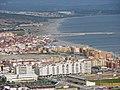 Vista de la zona oriental de La Línea de Concepción desde el peñón de Gibraltar.jpg