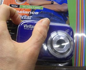 Vivitar - Low-end digital camera sold in 2011