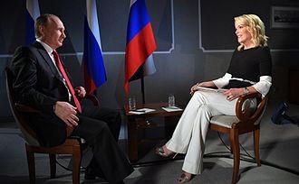 Megyn Kelly - Megyn Kelly with Russian President Vladimir Putin