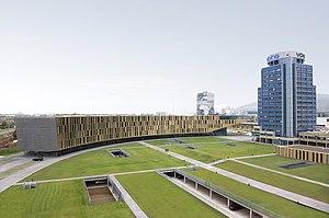 Dietmar Feichtinger - Financial center Voestalpine in Linz, Austria