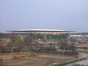 Volkswagen Arena - View from the west side (2004)