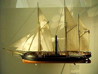 Von der Tann (gunboat) - Image: Von der Tann