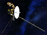 Artist's rendered model of Voyager 2