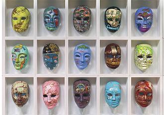Joyce Kozloff - Voyages, masks