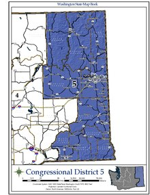 Washington's congressional districts - Wikipedia