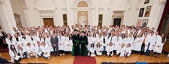 Medical University of Graz - White Coat Ceremony in Graz (Austria) 2012