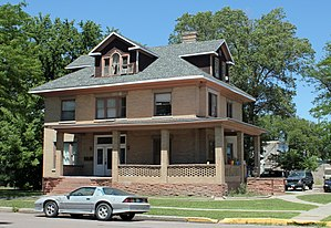 National Register of Historic Places listings in Logan County, Colorado - Image: WC Harris House
