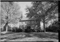 WEST FRONT, FROM SOUTHWEST - Kenmore, 1201 Washington Avenue, Fredericksburg, Fredericksburg, VA HABS VA,89-FRED,1-51.tif