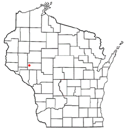 Location of Brunswick within Wisconsin
